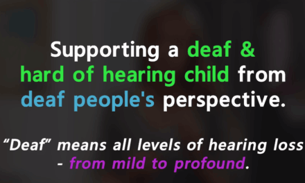 Supporting a Deaf Child from Deaf People's Perspective