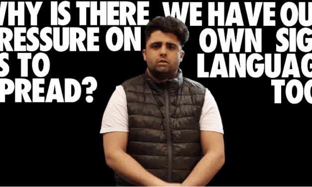 The Pressure to Lipread