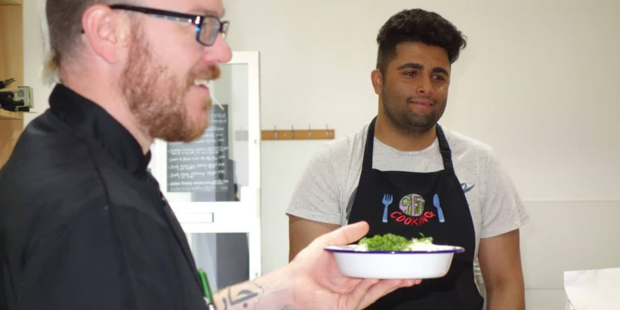 A Deaf Cooking Workshop