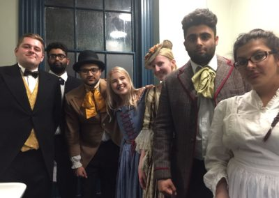 The cast of the My Deaf Story play