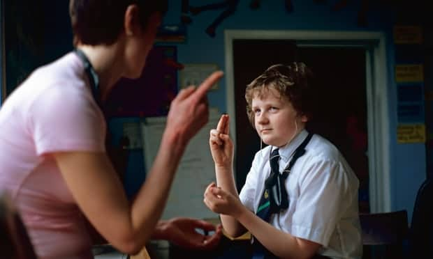 Educational support for deaf children in England 'in complete disarray'
