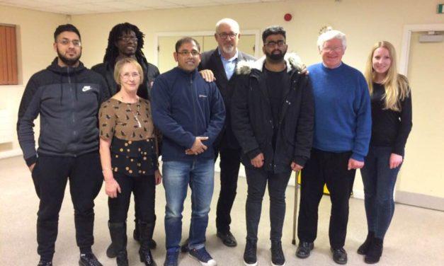 DEX Deaf Youth Council Meet Jon Trickett, MP