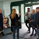 DEX Deaf Youth Council Recycling Centre Visit in Wakefield