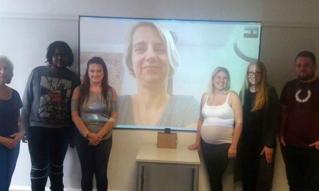 DEX Skype with Helga Stevens – Deaf MEP