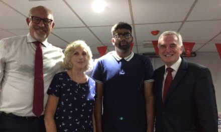 DEX Deaf Youth Coucil Meet John McDonnell