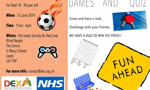 DEX 18-30 Games and Quiz Event