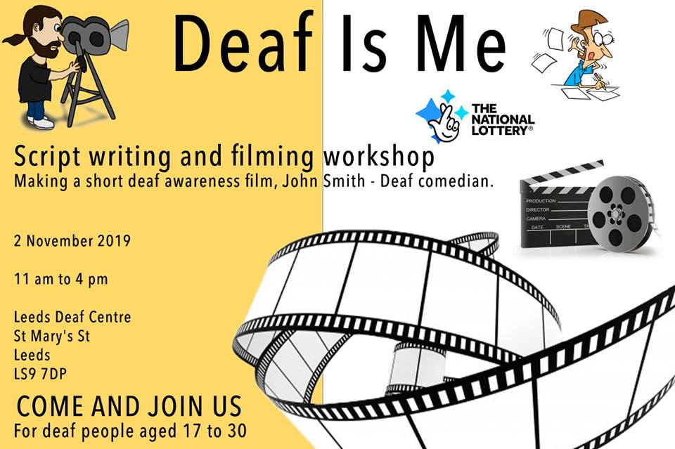 Deaf is Me Script Writing and Filming Workshop